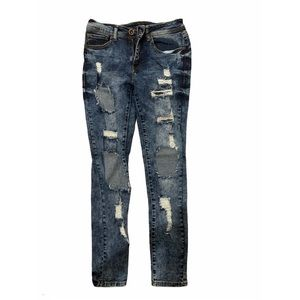 Red Fox Jeans with Rips
